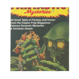 Giant Green Ghoul Notepad