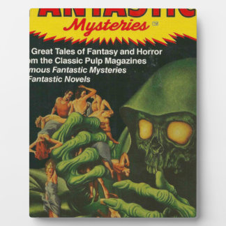 Giant Green Ghoul Plaque