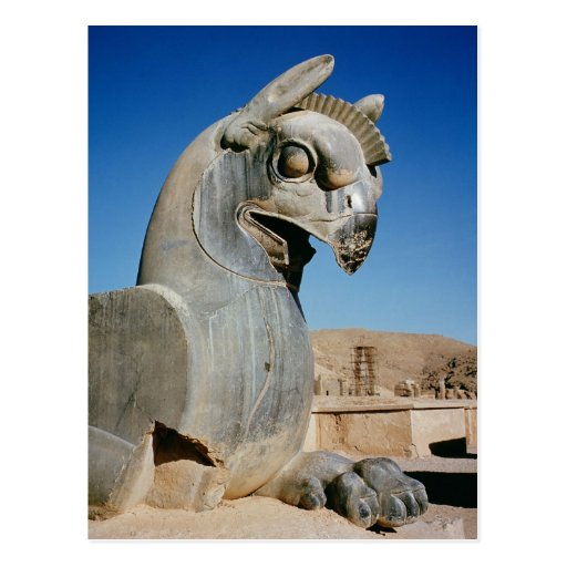 Giant griffin, Persian, c.516-465 BC Post Card