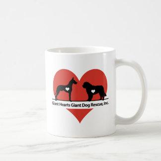 Giant Hearts Giant Dog Rescue Logo Coffee Mug