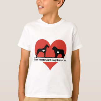 Giant Hearts Giant Dog Rescue Logo T-Shirt