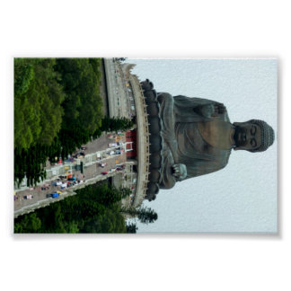 Giant Hong Kong sitting Buddha Posters