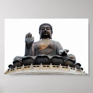 Giant Hong Kong sitting Buddha Print