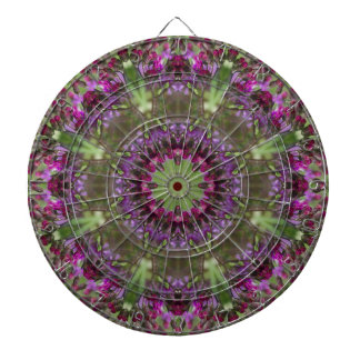 Giant Ironweed, Wildflower Kaleidoscope Dartboard