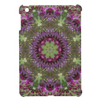 Giant Ironweed, Wildflower Kaleidoscope iPad Mini Case