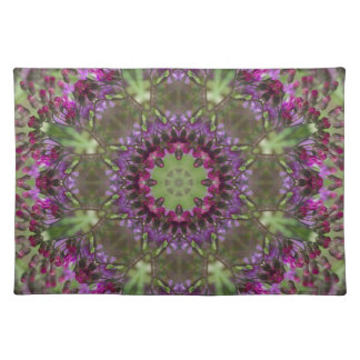 Giant Ironweed, Wildflower Kaleidoscope Placemat