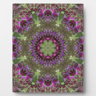 Giant Ironweed, Wildflower Kaleidoscope Plaque