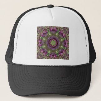 Giant Ironweed, Wildflower Kaleidoscope Trucker Hat