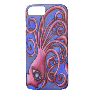 Giant Japanese Squid iPhone 7 Barely There Case