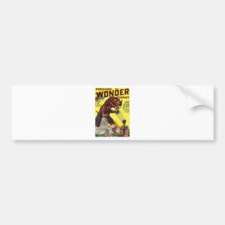 giant Lizard Monster Bumper Sticker