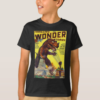giant Lizard Monster T-Shirt