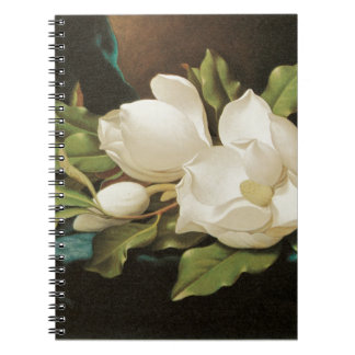 Giant Magnolias Spiral Notebook