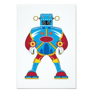 Giant Mecha Robot RSVP Card 9 Cm X 13 Cm Invitation Card