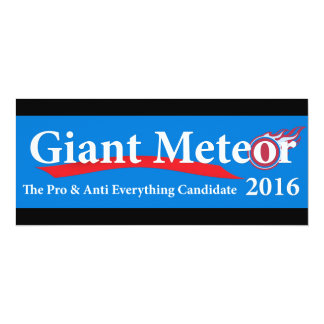 Giant Meteor 2016 Pro & Anti Everything Candidate Card