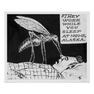 Giant Mosquitos Nome 1926 Poster