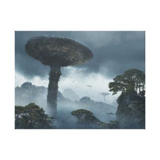 Giant Mushrooms of Skull Island Canvas Print