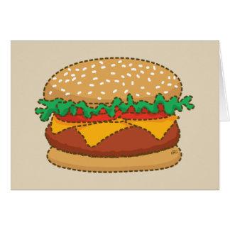 Giant Nothingburger Card
