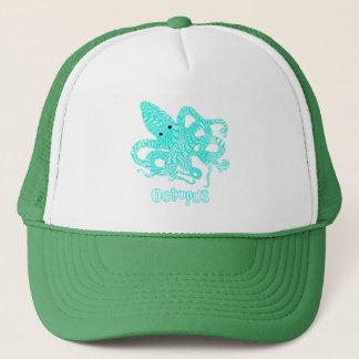 Giant Octopus Nautical Creature Graphic Trucker Hat