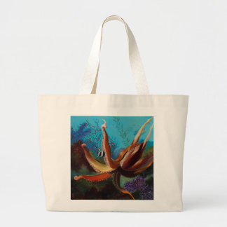 Giant Pacific Octopus Jumbo Tote Bag