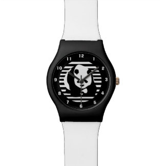 Giant Panda and Stripes Watch