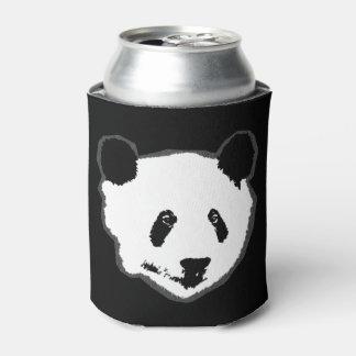 Giant Panda Bear Face Can Cooler