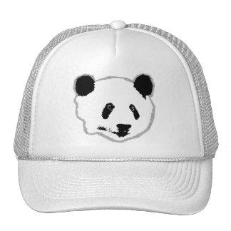 Giant Panda Bear Face Cap