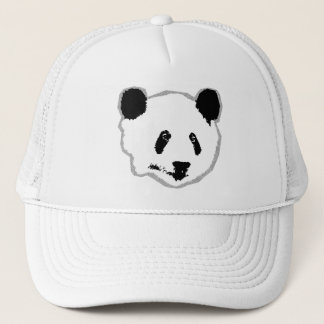 Giant Panda Bear Face Trucker Hat
