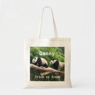 Giant panda custom personalize trick or treat