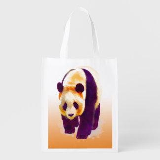 Giant Panda Reusable Grocery Bag