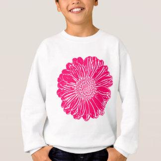 Giant Pink Gerbera Daisy Sweatshirt