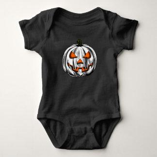 Giant Pumpkin – White Baby Bodysuit