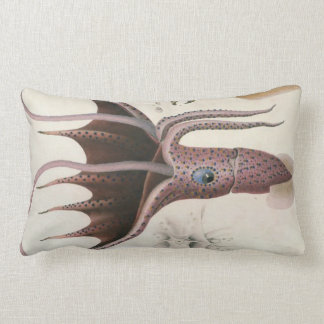 Giant Red Squid/Octopus Nautical Themes Pillow