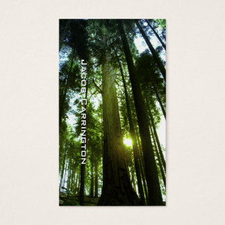 Giant Redwoods Business Card