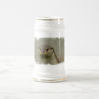 Giant River Otter Beer Stein