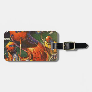 Giant Robot Caterpillars Luggage Tag