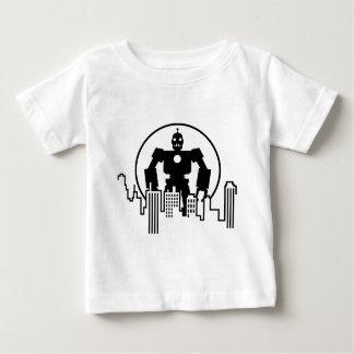 Giant Robot Skyline Baby T-Shirt