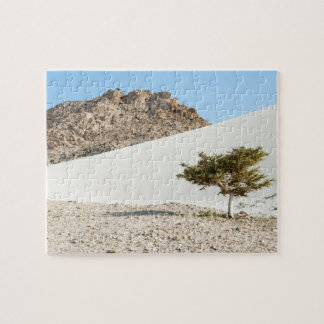 Giant sand dune - Delisha, Socotra Island, Yemen Jigsaw Puzzle