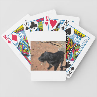 Giant Schnauzer Bicycle Playing Cards