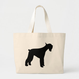 Giant Schnauzer Large Tote Bag