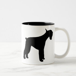 Giant Schnauzer Two-Tone Coffee Mug