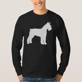 Giant Schnauzer (white) T-Shirt