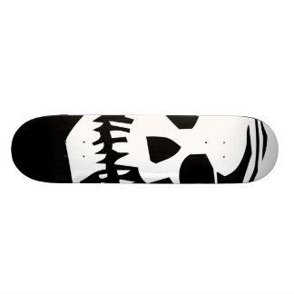 Giant SKull - Black and White Custom Skateboard