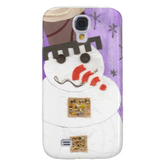 Giant Snowman Samsung Galaxy S4 Case