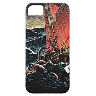 Giant Squid Attack case iPhone 5 Cover