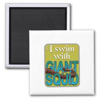 Giant Squid Fridge Magnet