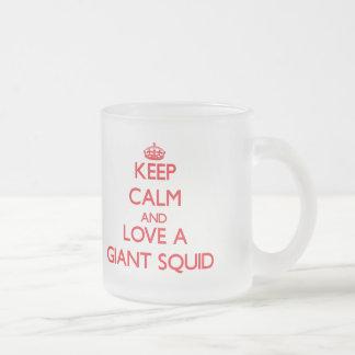 Giant Squid Coffee Mugs