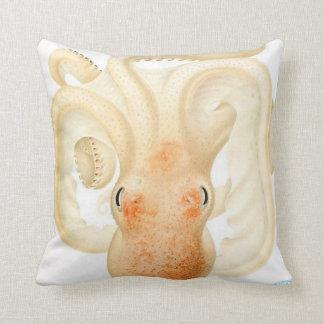 "Giant Squid/Octopus Tentacles 20"" Pillow Orange Throw Cushion"