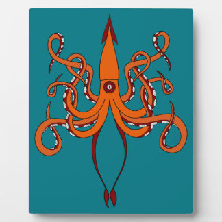 giant squid plaque
