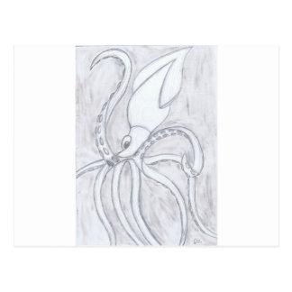 Giant Squid Postcard