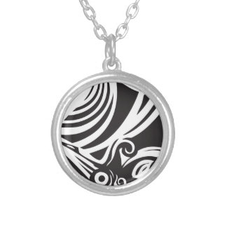 Giant Squid Silver Plated Necklace